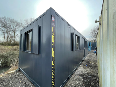 No 391 | 32x10ft | Double Office | Canteen Portable Building