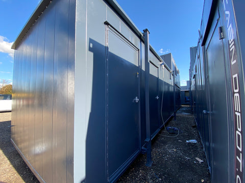 No 317 | 24x10ft |Toilet Shower Block | (7x3m) | 3 Toilet+ shower |