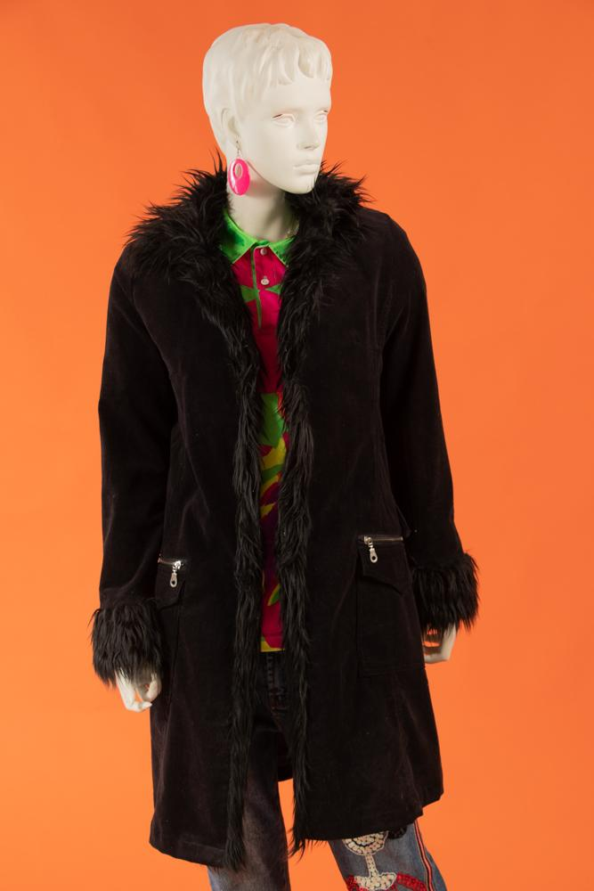 2000's Roxie Fur Trimmed Coat