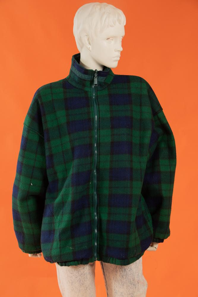 Vintage - Fleece Plaid Jacket