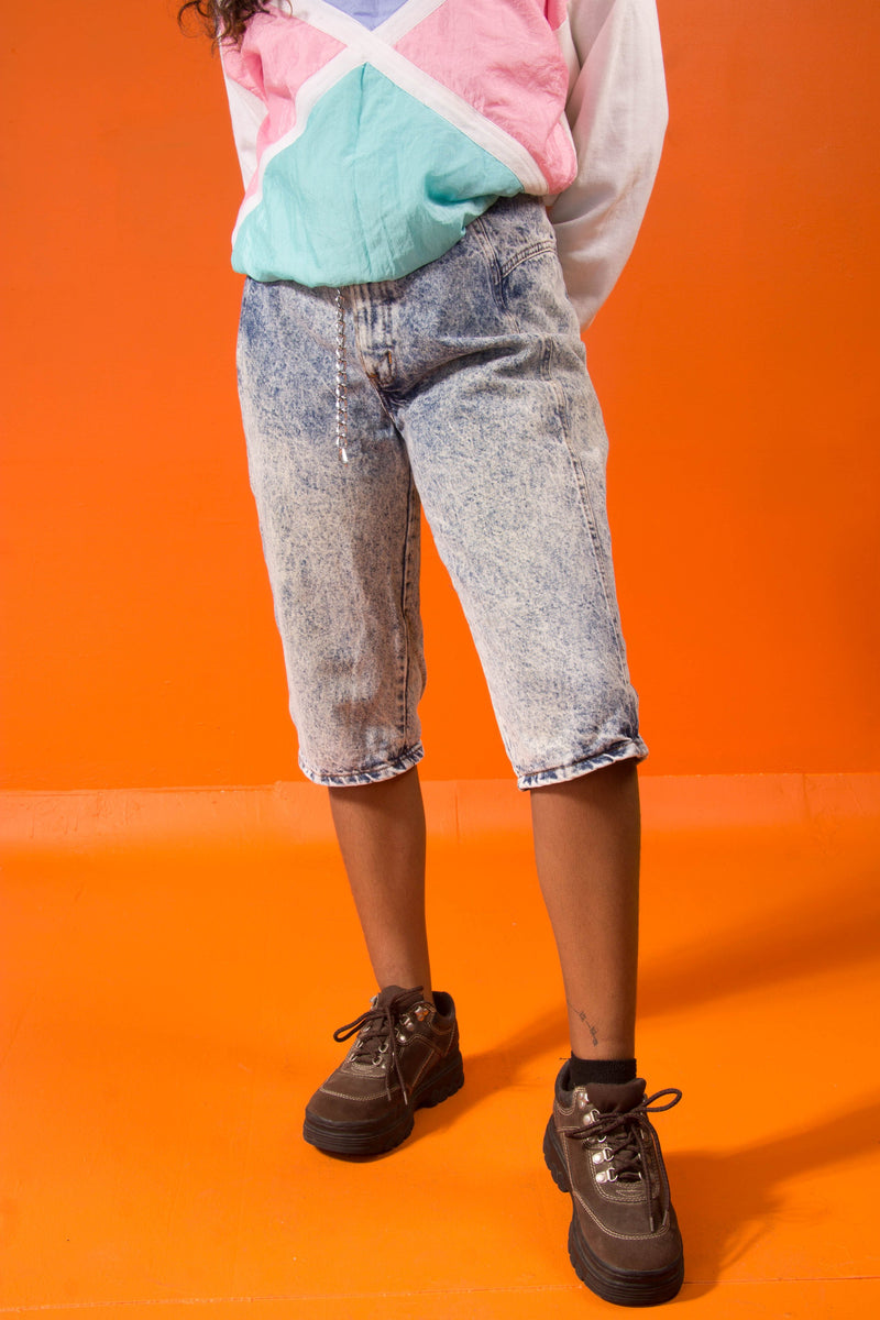 Vintage - Acid Wash Capri