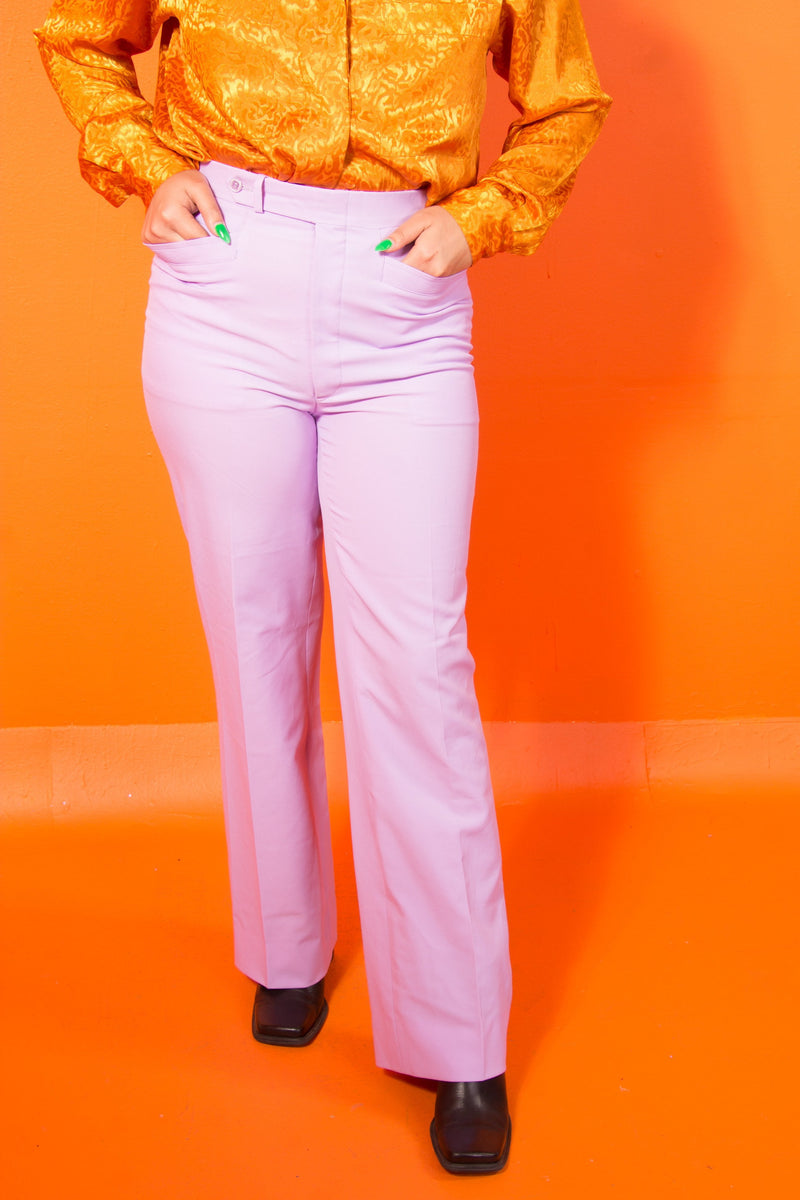Vintage - 70's Lilac Trousers