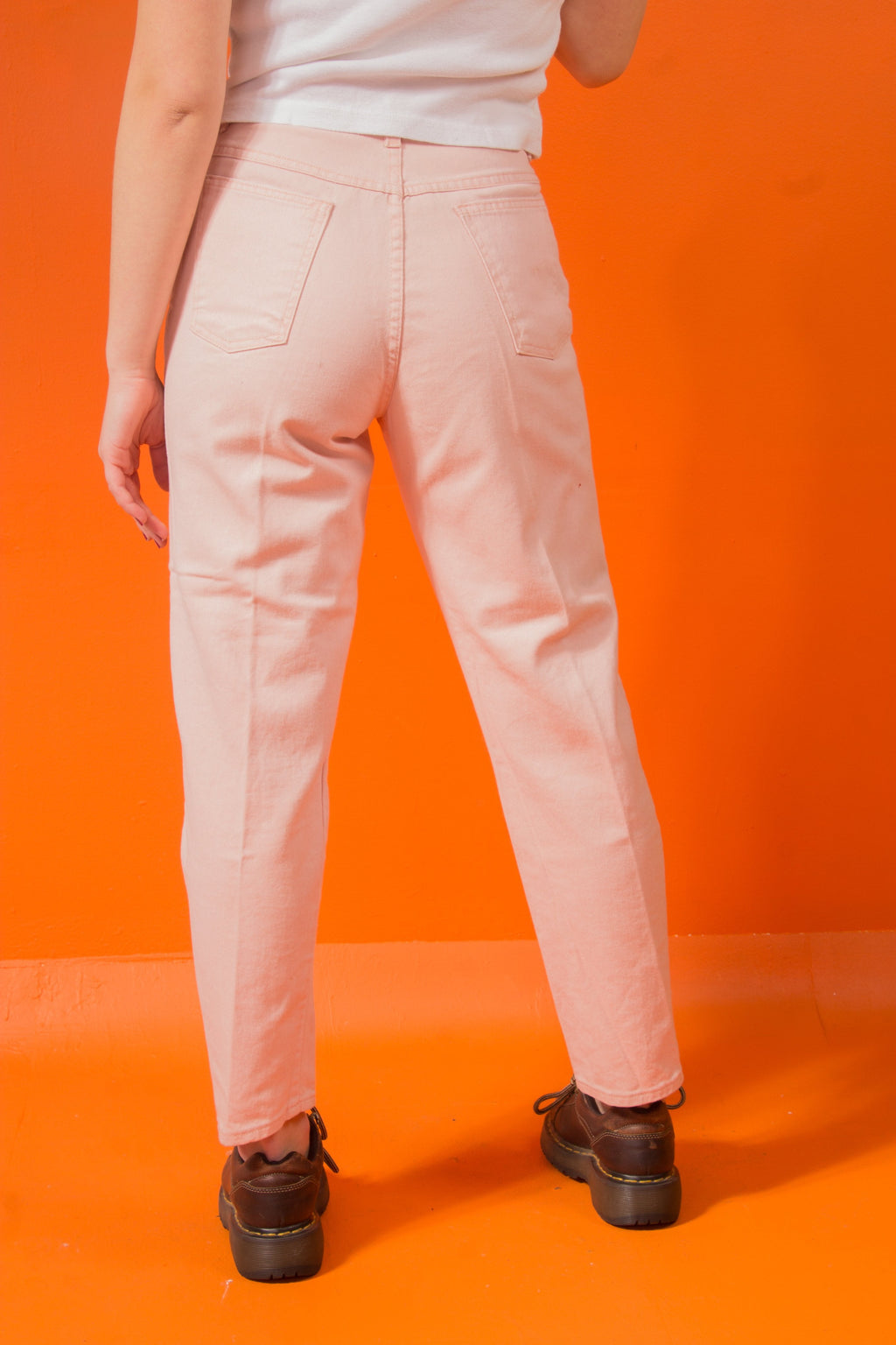 Vintage - Blush Highwaist Jeans
