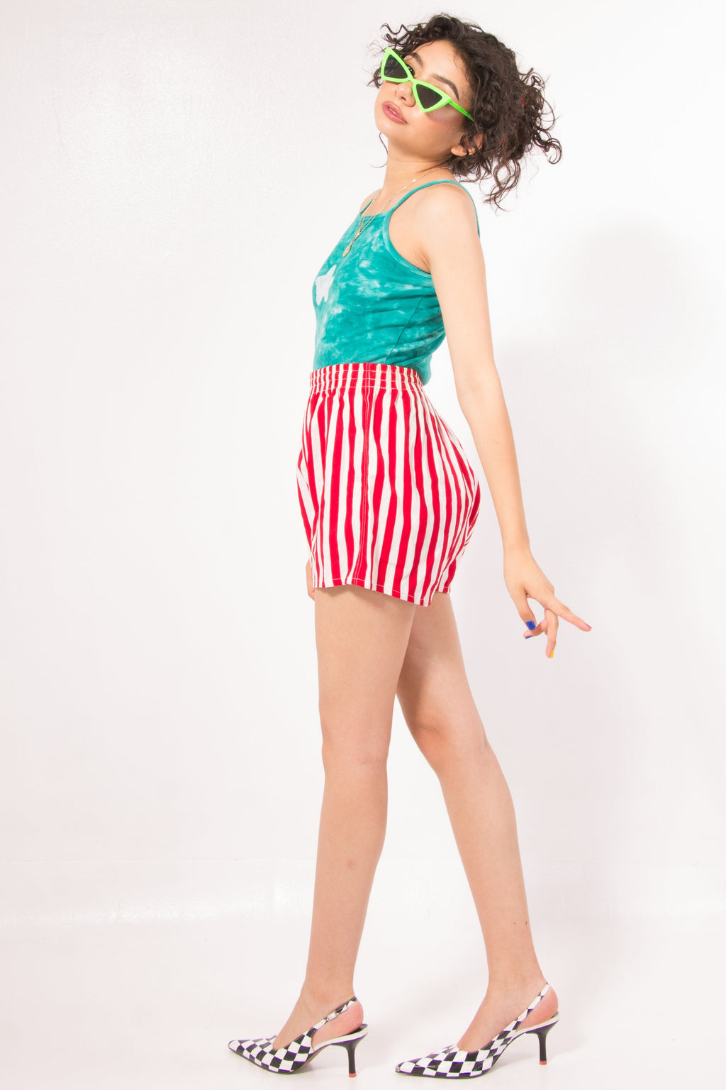 Vintage - Candy stripe shorts