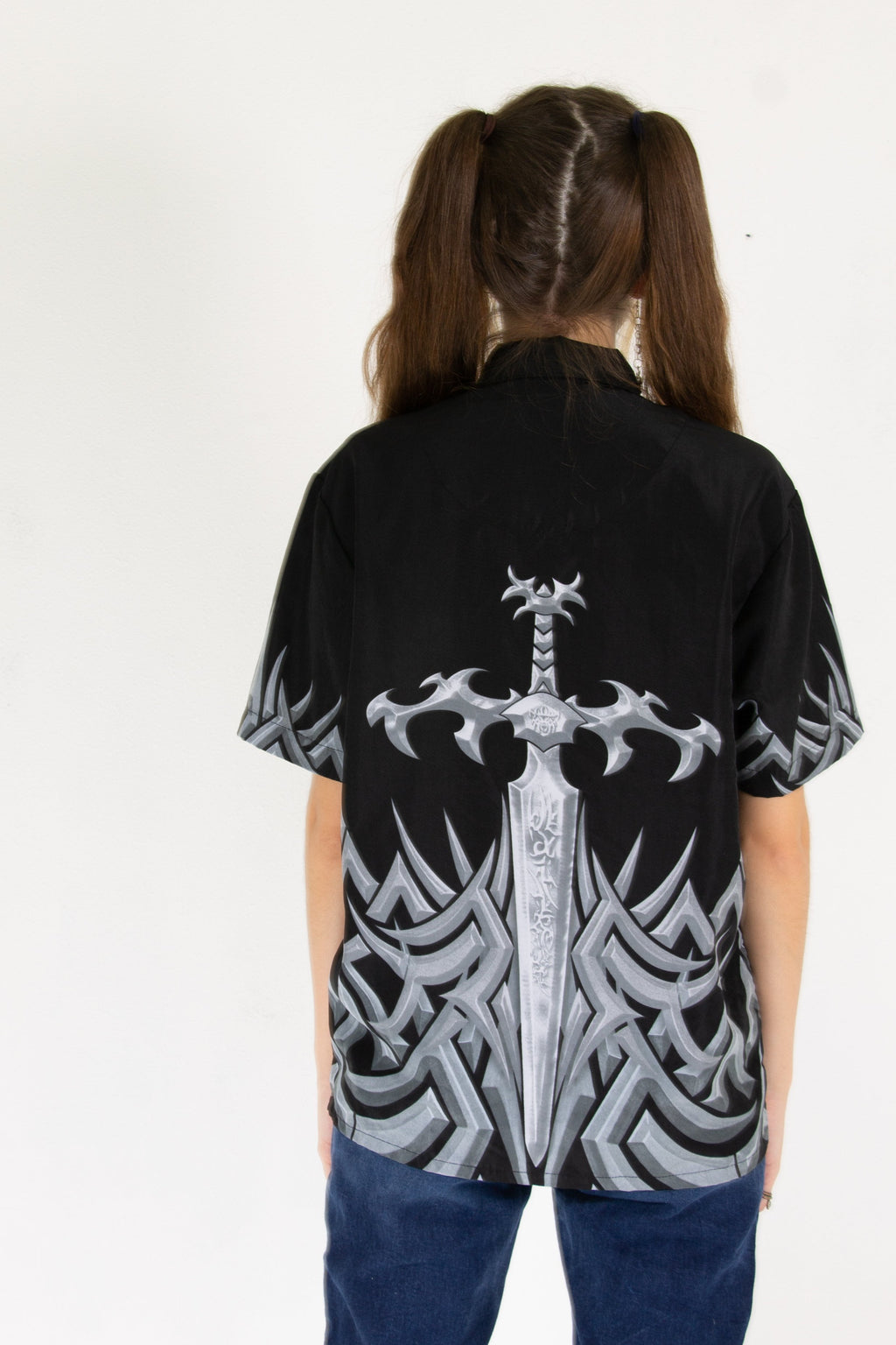 00's Holy Sword Button Up