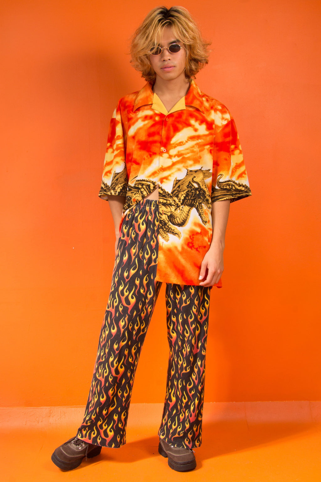 Vintage - Flaming PJ Pants