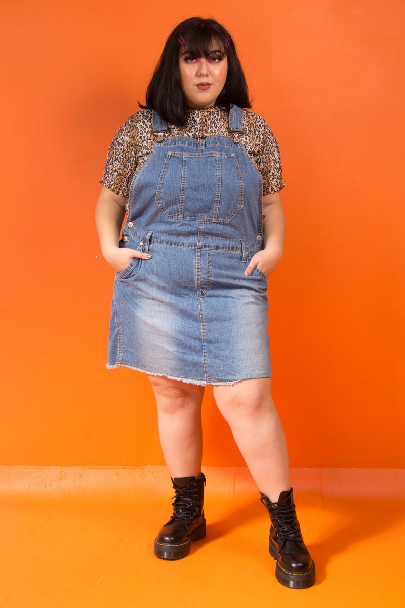 Vintage - Jean Overall Dress