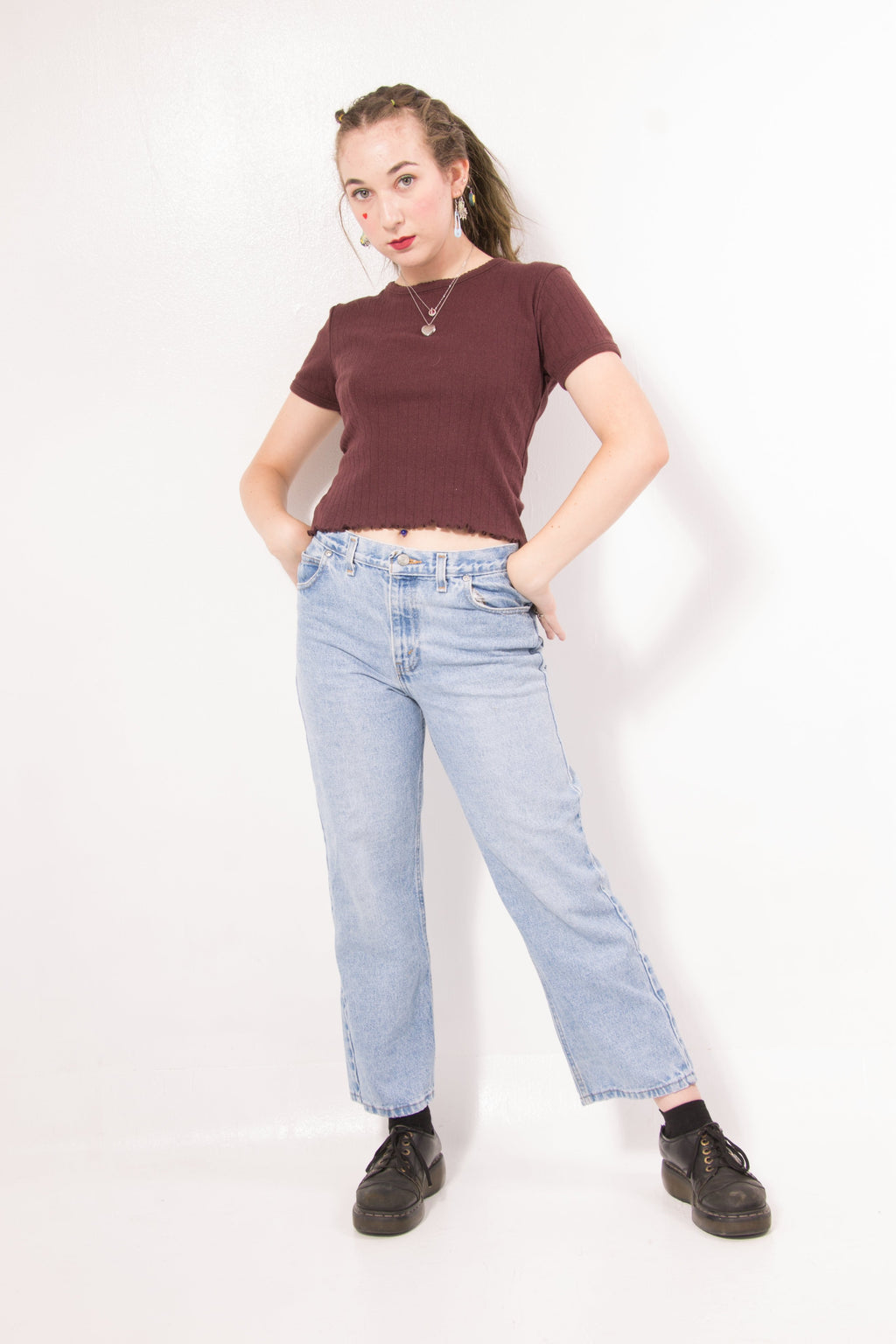 Vintage - relaxed mom jeans
