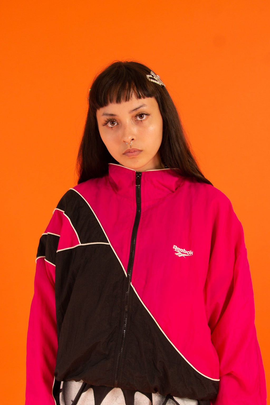 Vintage - Hot Pink Reebok Windbreaker