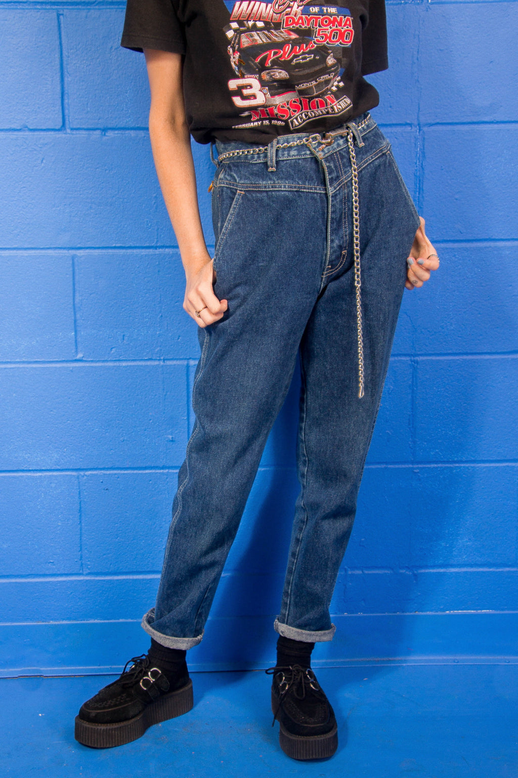 Vintage - True High Waist Mom Jeans