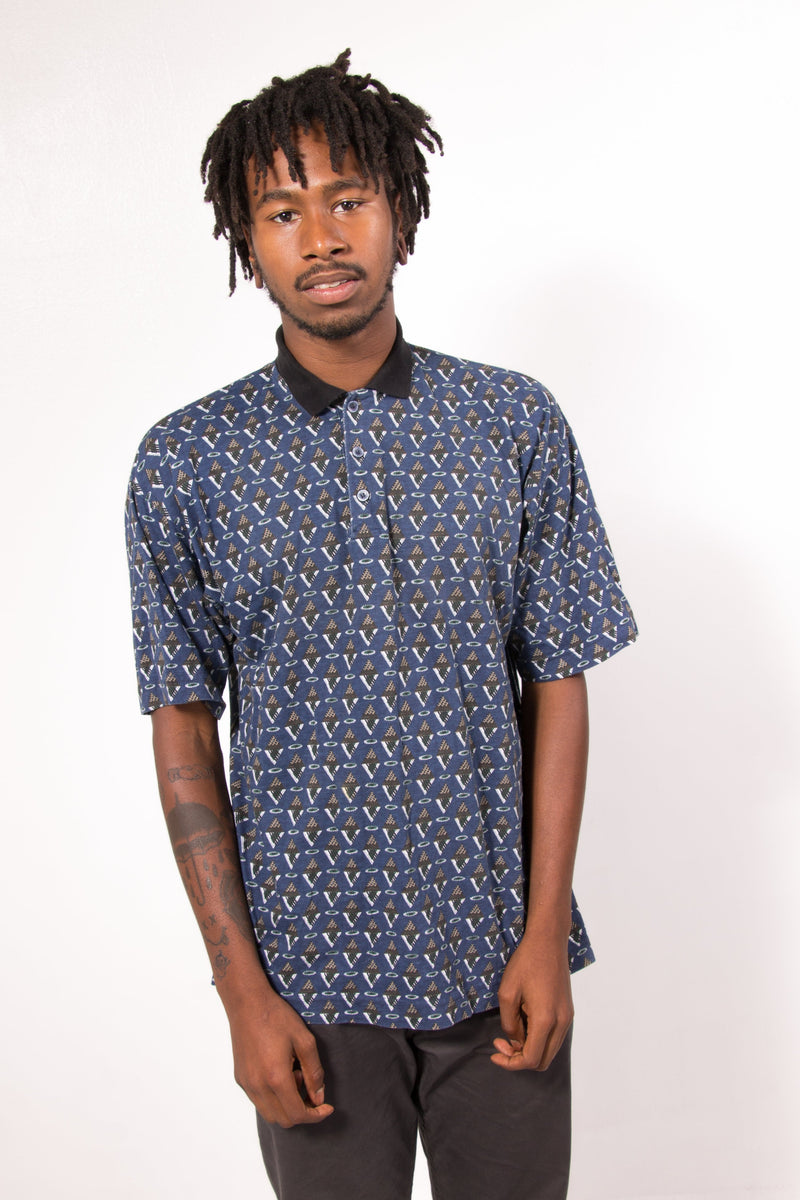 Vintage - triangle eyes polo