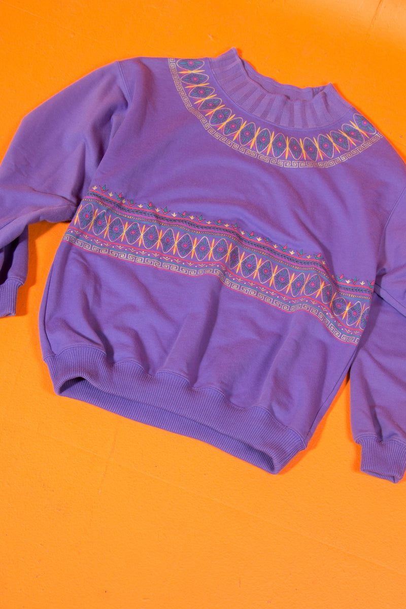 Vintage - Cute Mockneck Sweater