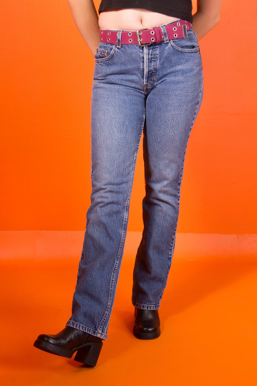 Vintage -Light wash  Boot Cut Jeans