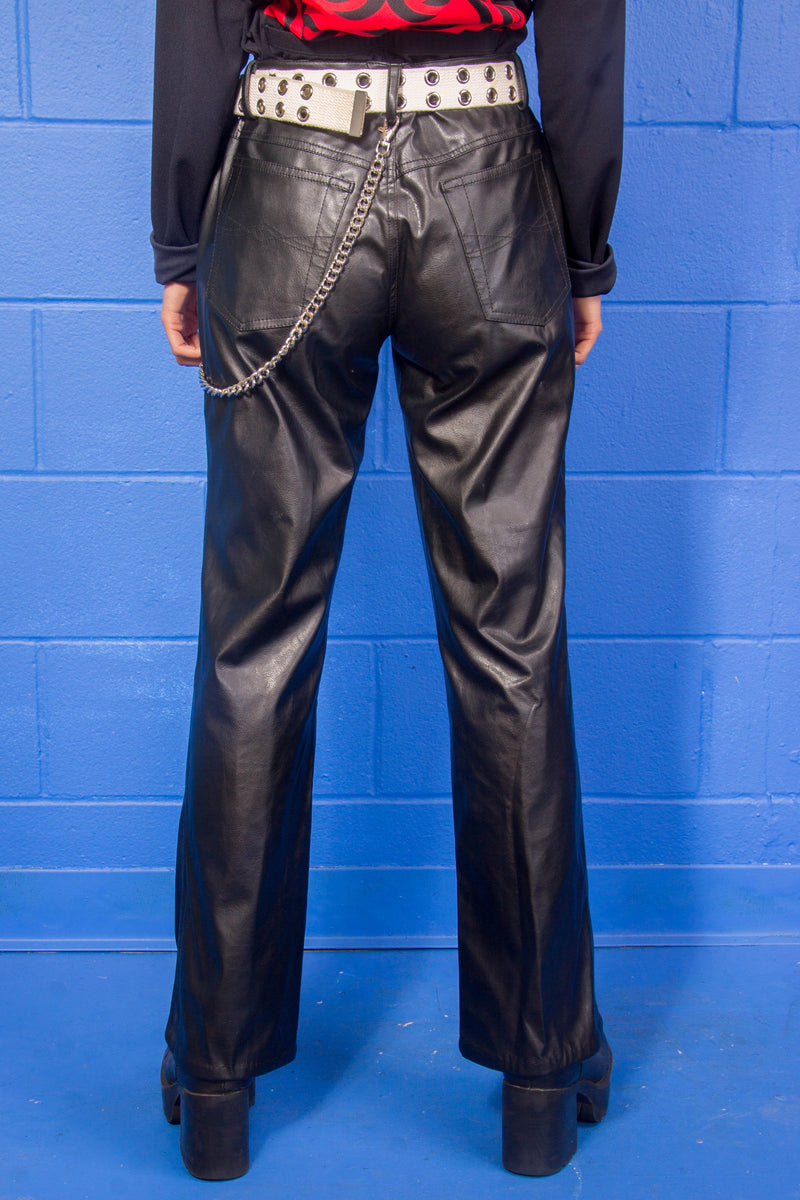 00's No Boundaries Pleather Pants