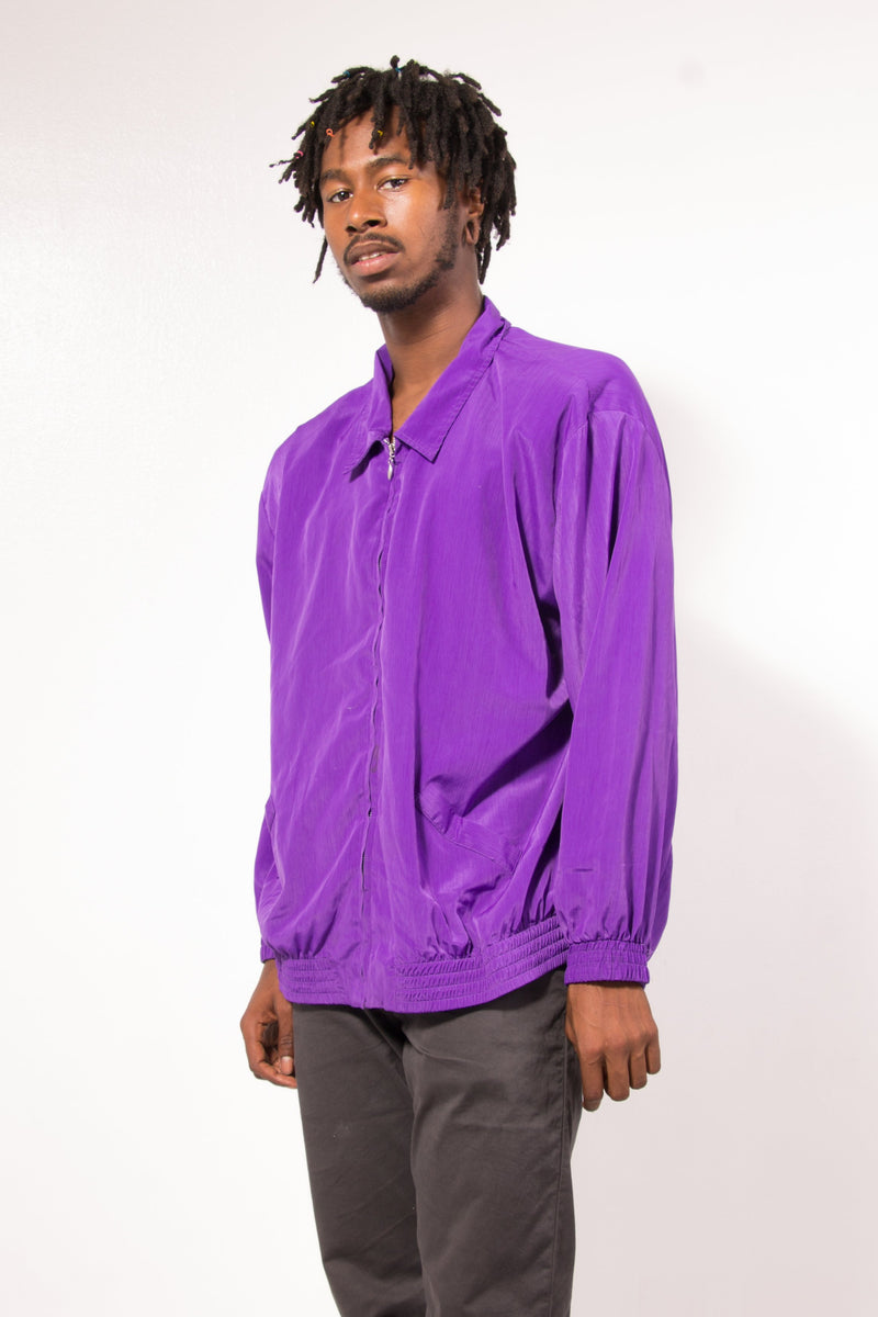 Vintage - purple teddi windbreaker