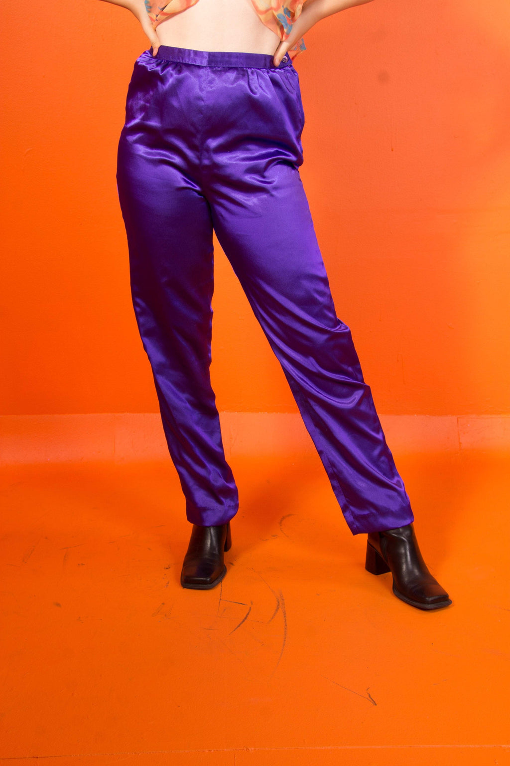 Vintage - Vibrant Purple Pants