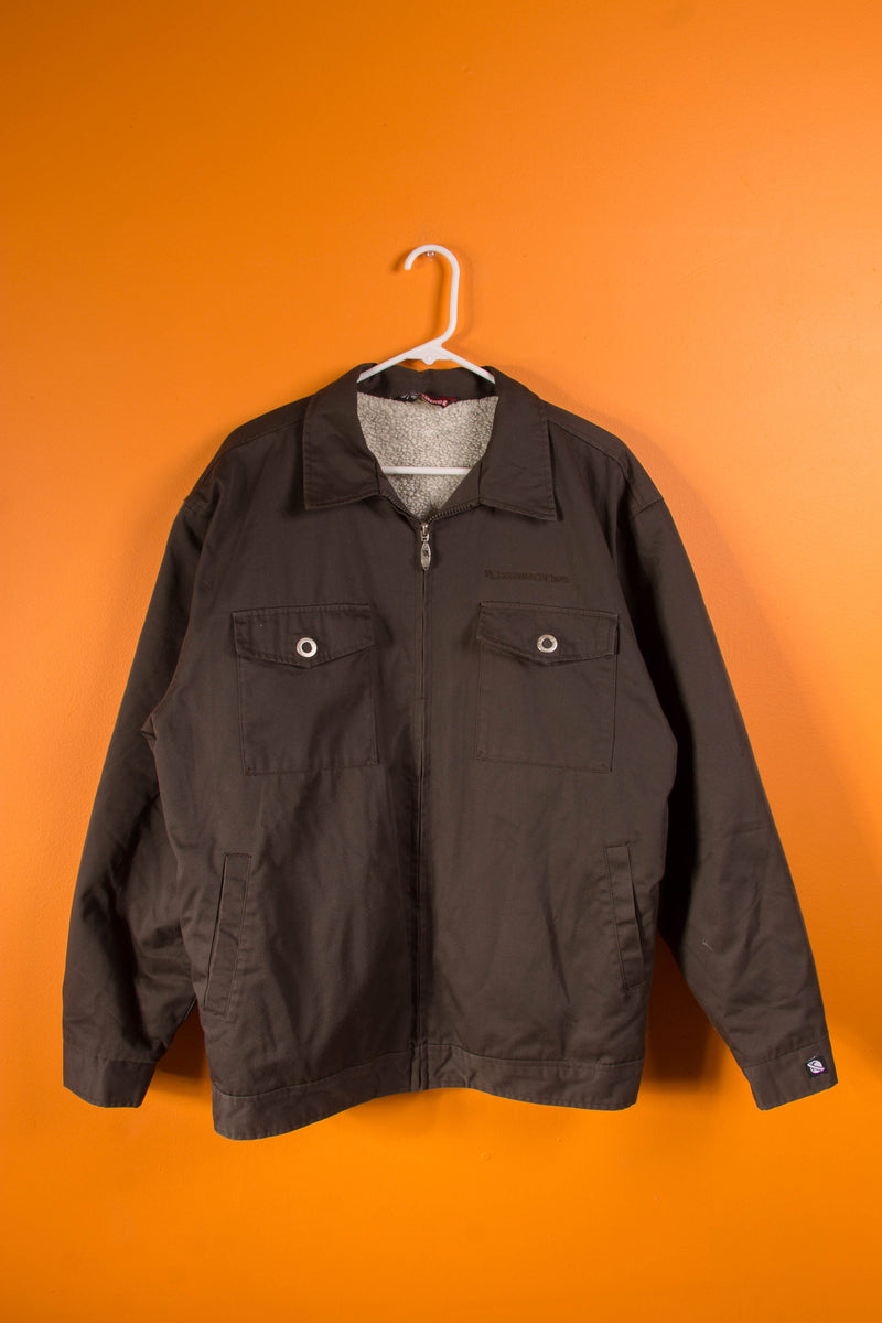 lost enterprises fleeced jacket