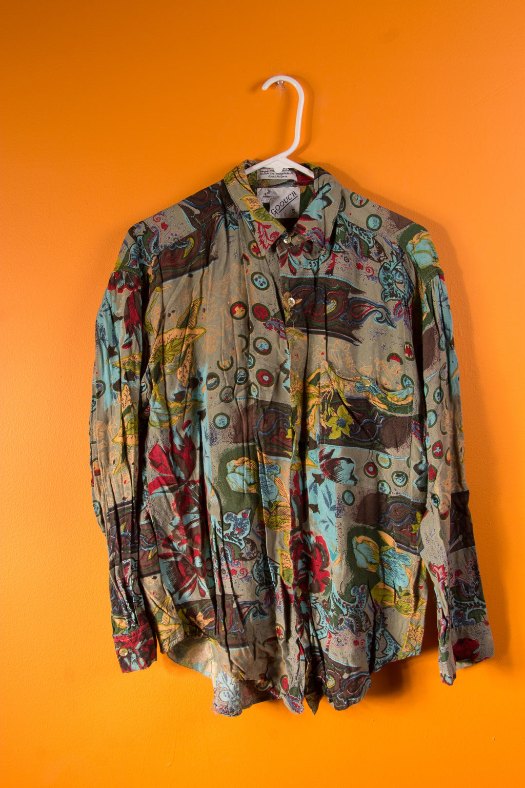 Vintage - Floral Button Up