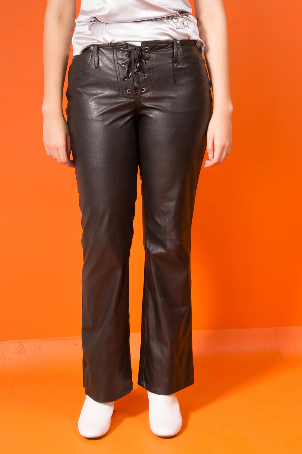00's leather pants