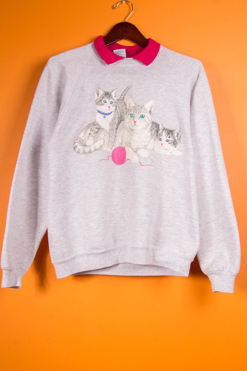 Vintage - Kitty Play Crewneck