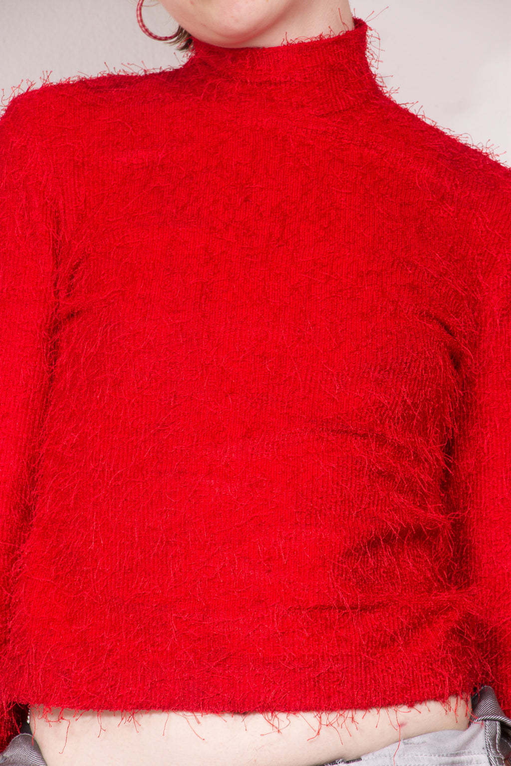 Vintage - Kirby Red Turtleneck