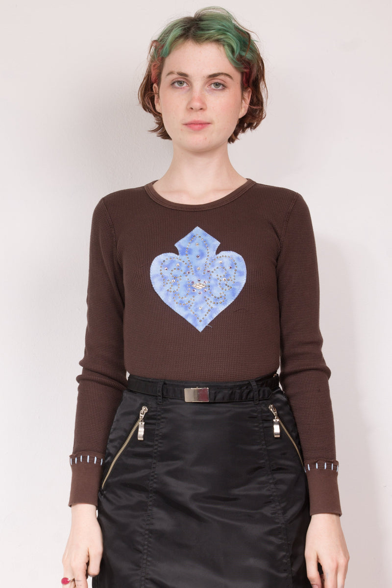 00's Heart Spade Thermal