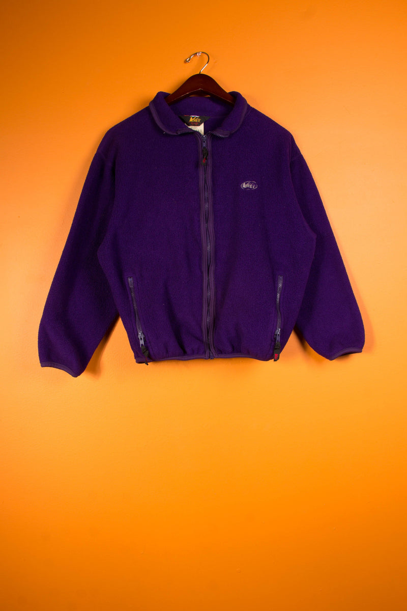 Vintage - Purple fleece sweater