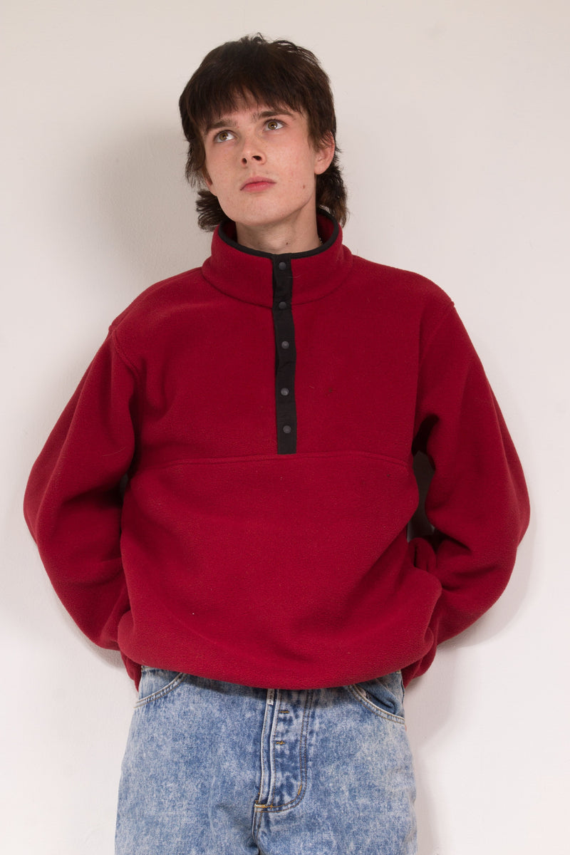 Vintage - red Pullover Sweater