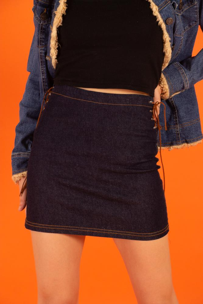 00's Too Cute Jean Skirt