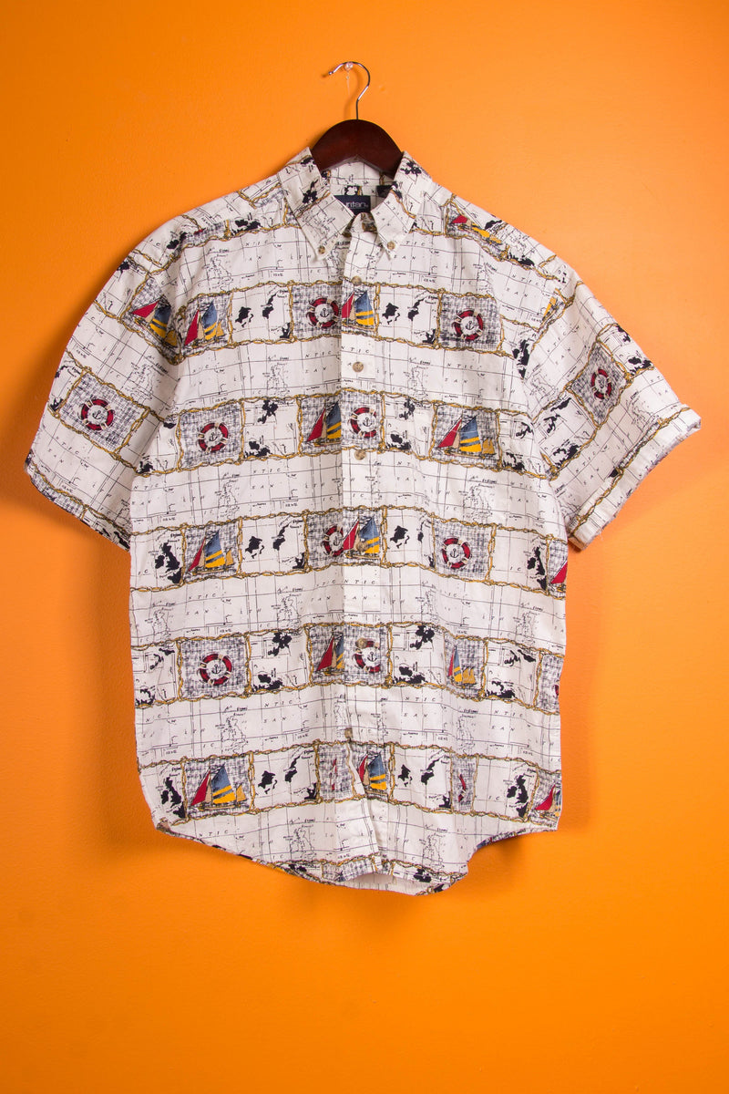 Vintage - world Button Up