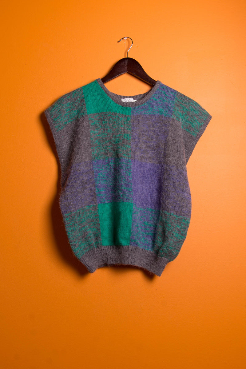 Vintage - sweater knit top