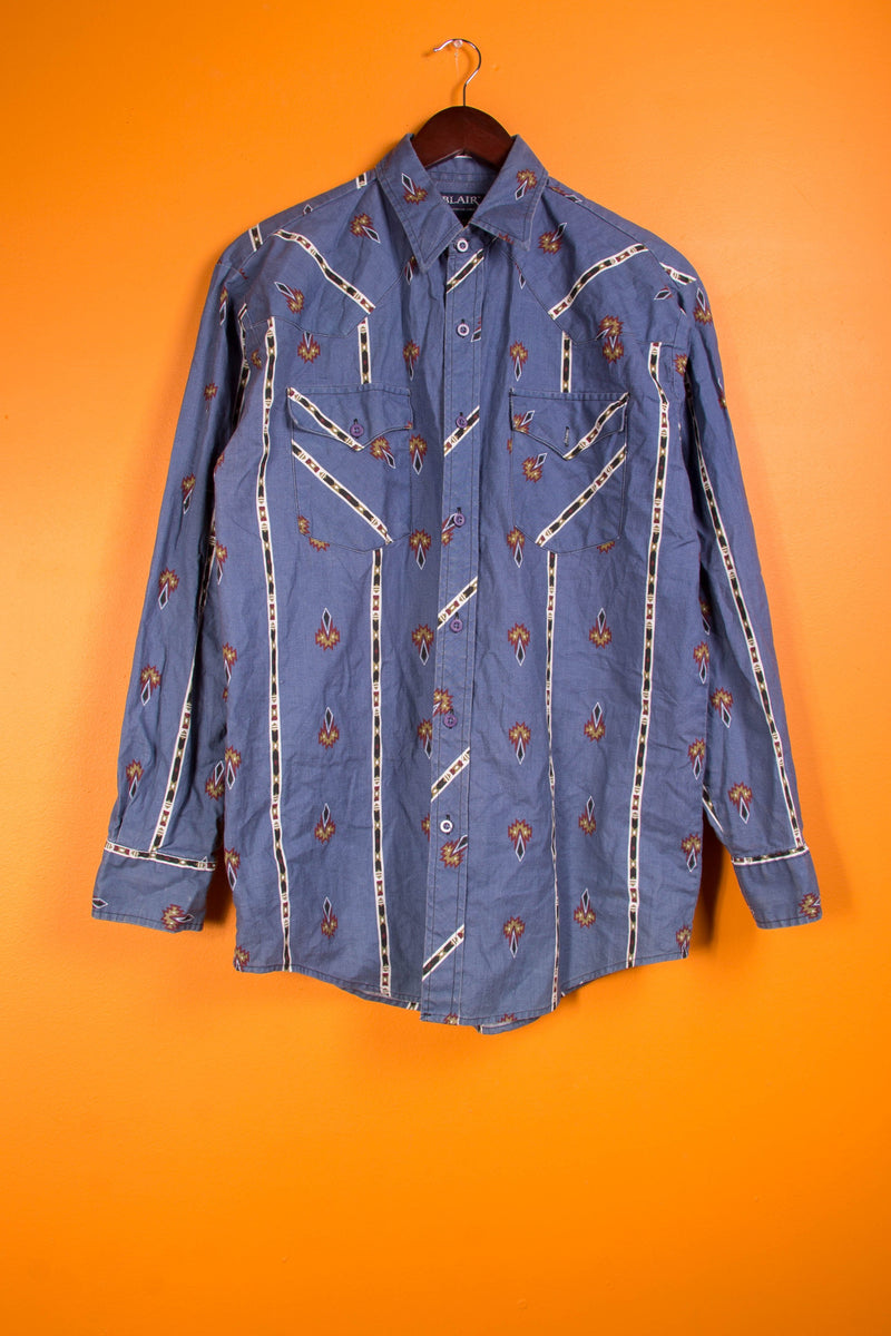 Vintage-  blane button Up