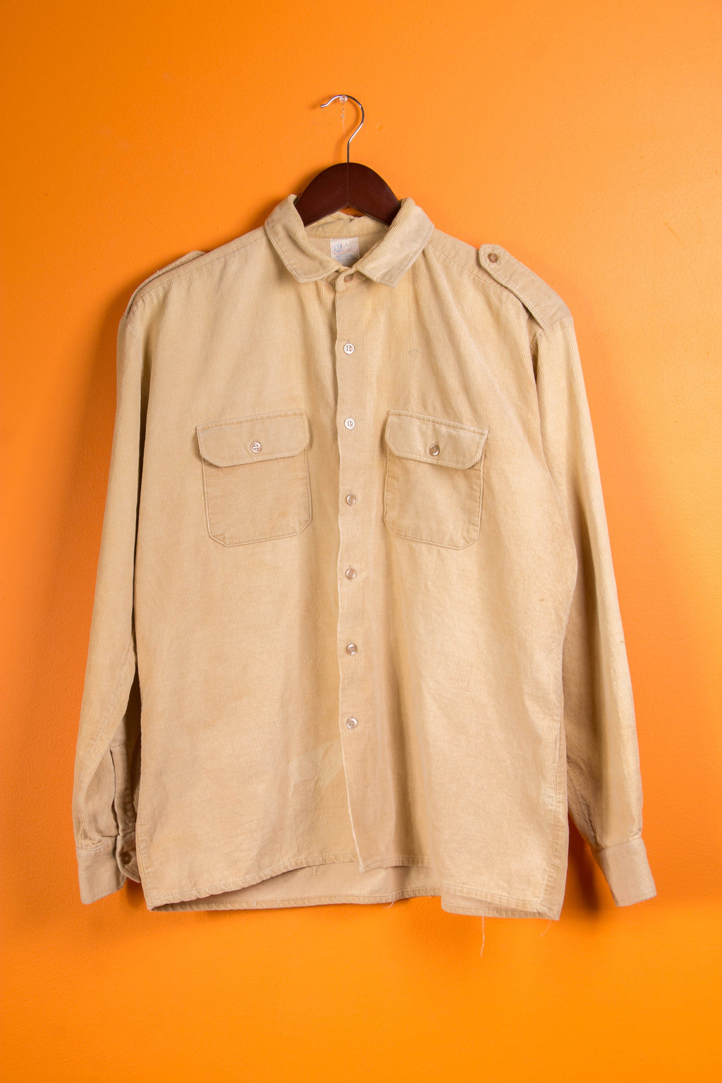 Vintage - corduroy button up