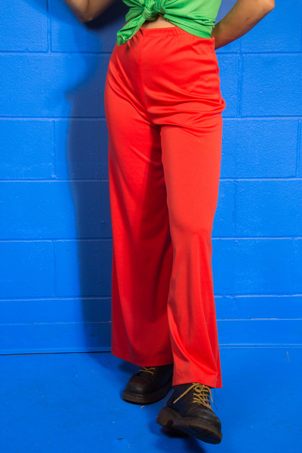 Vintage - Blood Orange wideleg Pants
