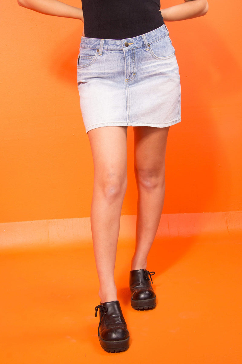 Vintage - White wash Mudd Skirt