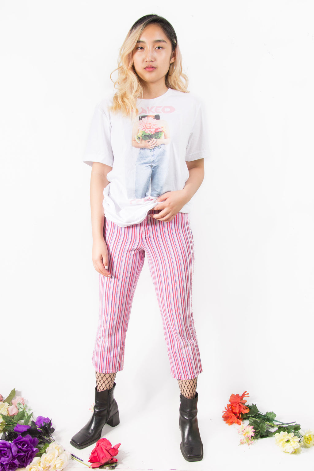 Vintage - Candy Stripe Pants