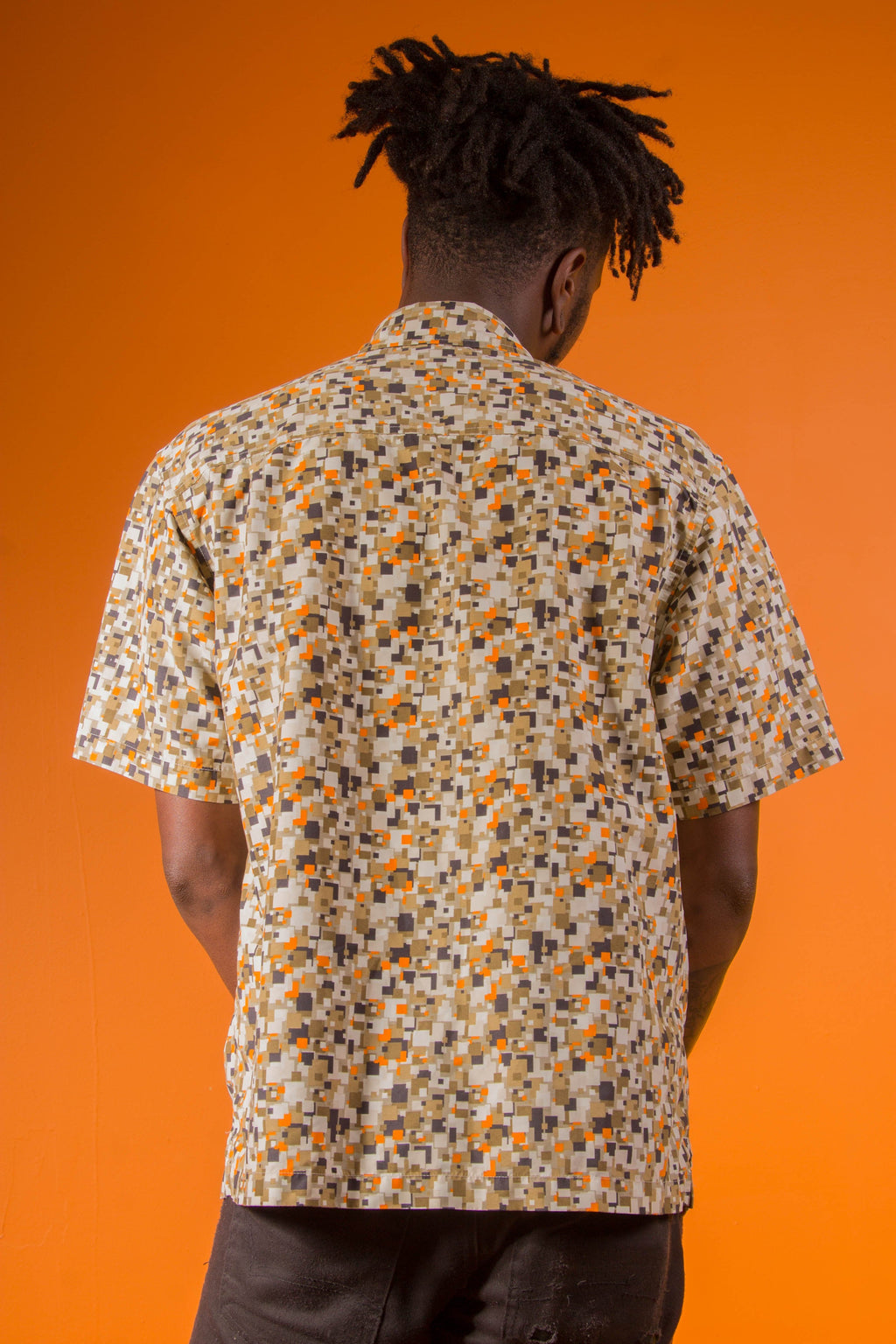 VINTAGE - MILLER BUTTON UP