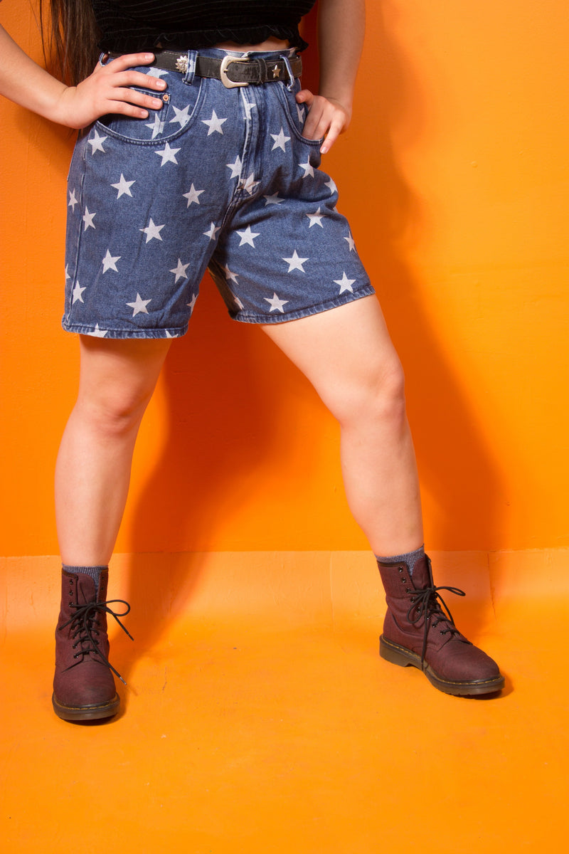 Vintage - Star highwaisted shorts
