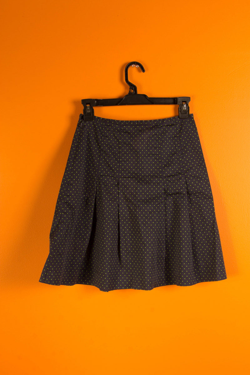 Vintage - Polkadot Pleated Skirt