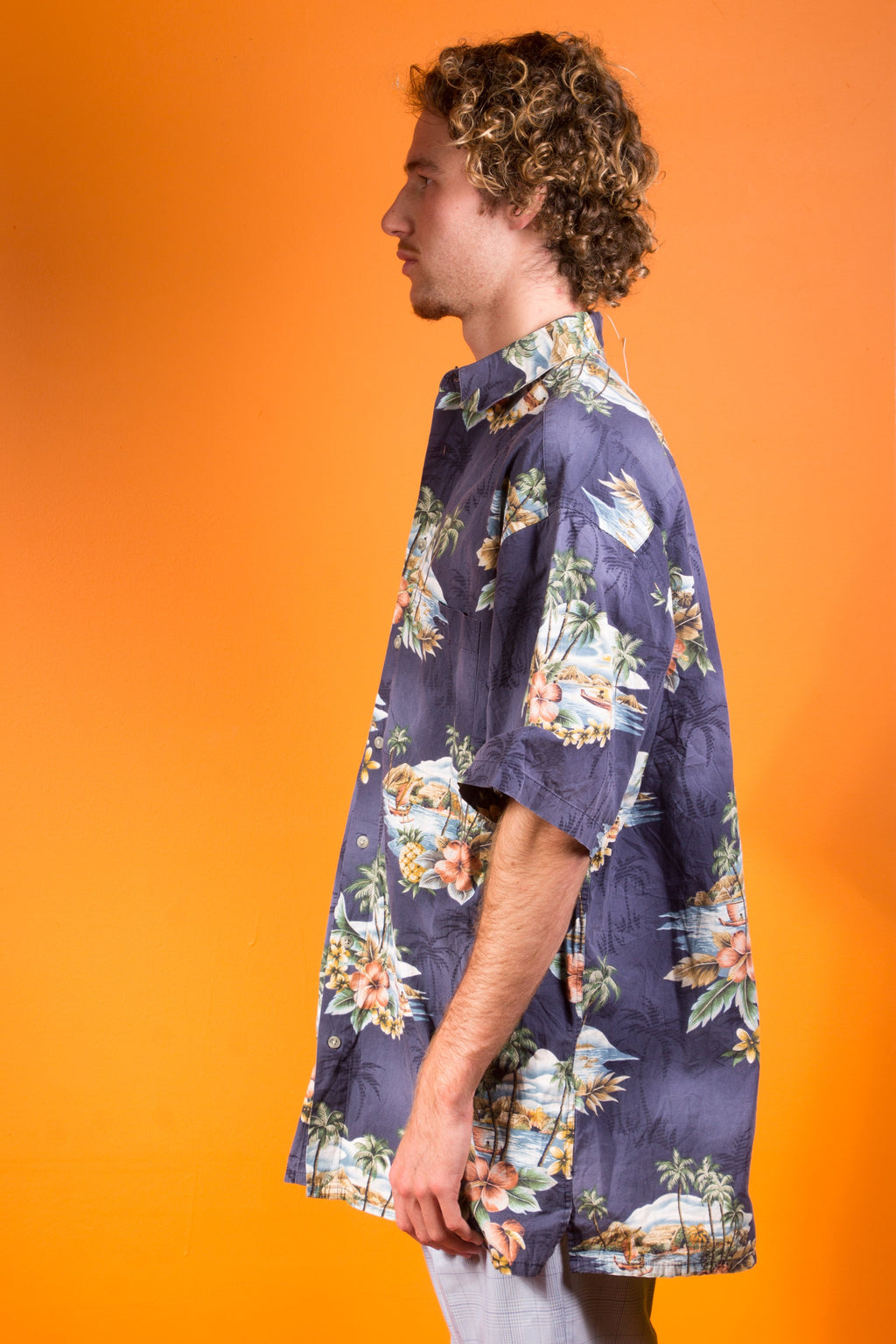 Vintage - Get Away Button Up