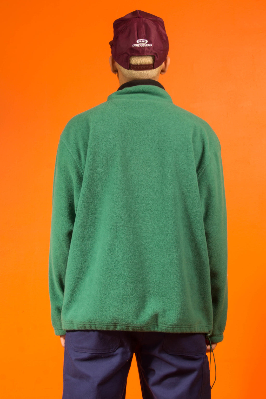 Vintage - Green Fleece Jacket