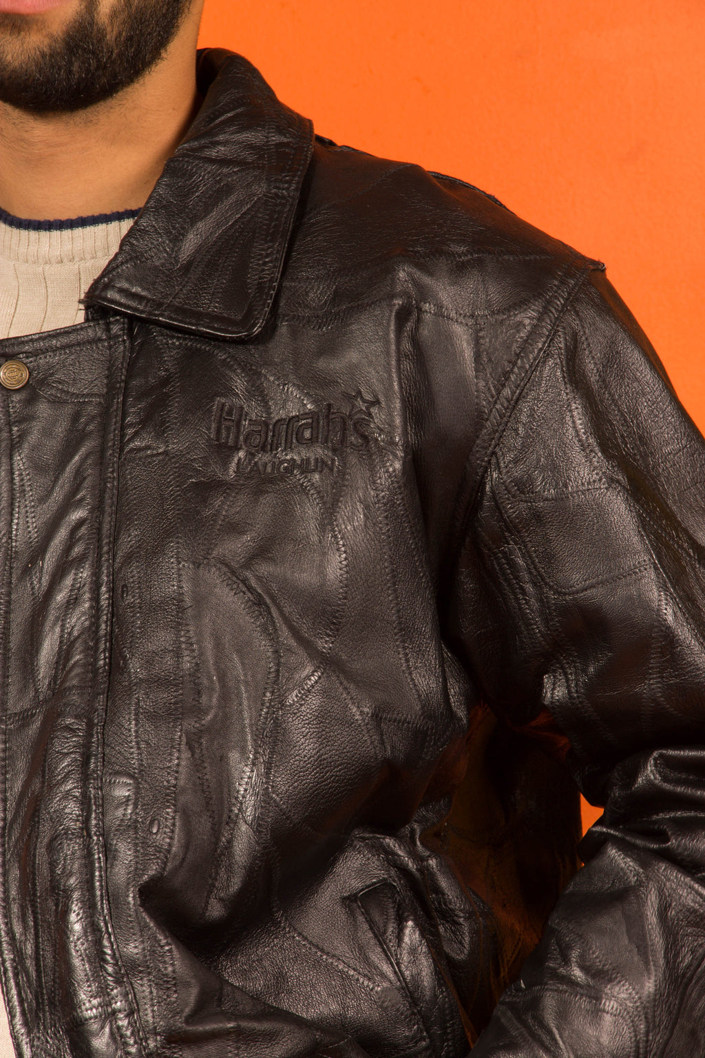 Vintage - Black Leather Jacket