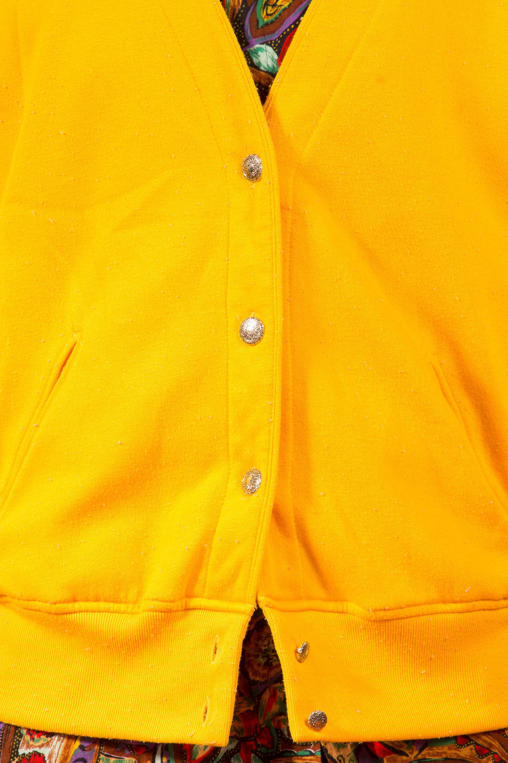 Vintage - Yellow Cardigan