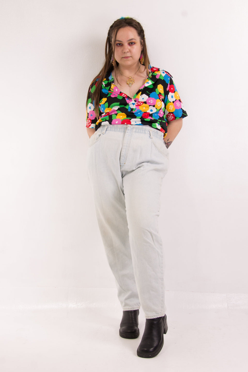 Vintage - Highwaist Mom Jeans
