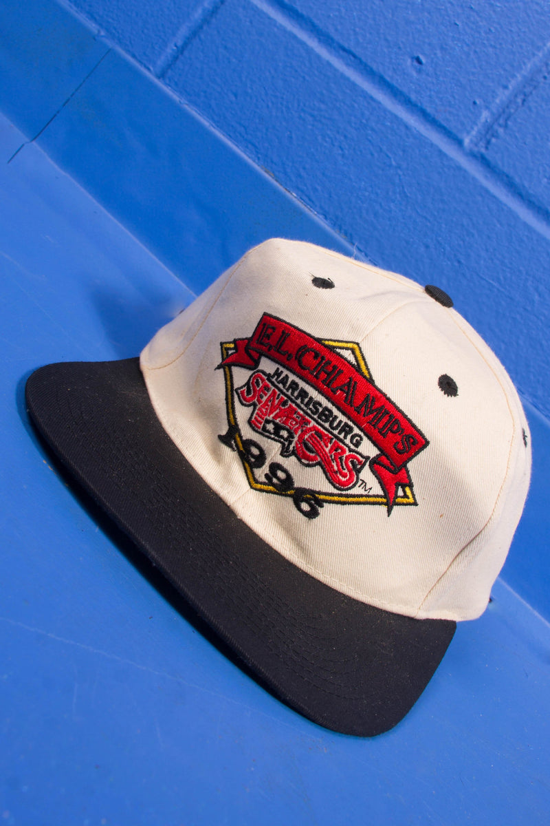 Vintage - 96' Harrisburg senators snap-back