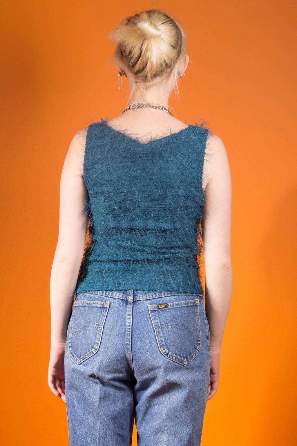 Vintage - Blue Michelle Top