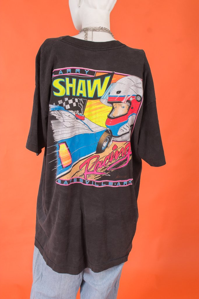 Vintage - Larry Shaw Racing T Shirt