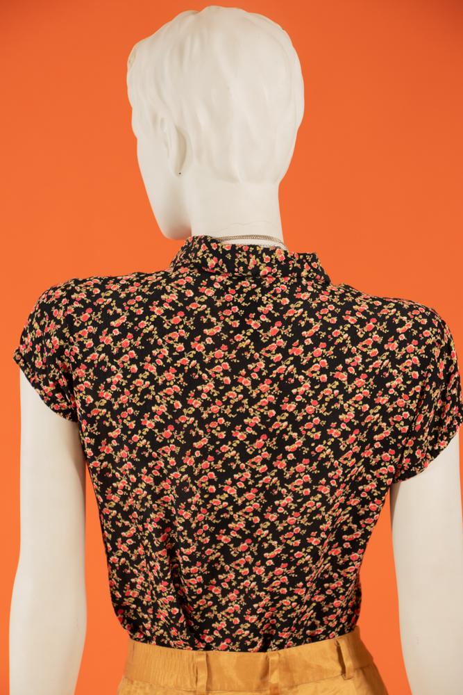 Vintage - Mini Flower Button Up