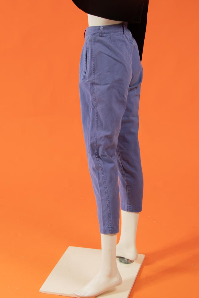 Vintage - Lilac Pleated Pants