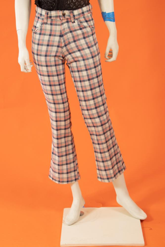 Vintage - 70's Plaid Pants